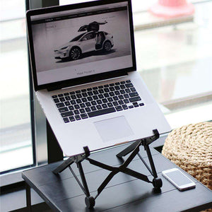 Portable Laptop Stand - Get The Stand Positioned Exactly The Way You'd Like