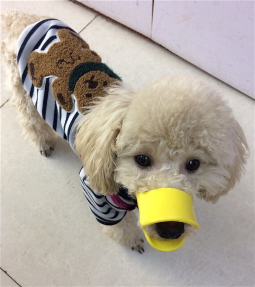 Dog Muzzle - Cutest Adjustable Duck Mouth For Your Dog