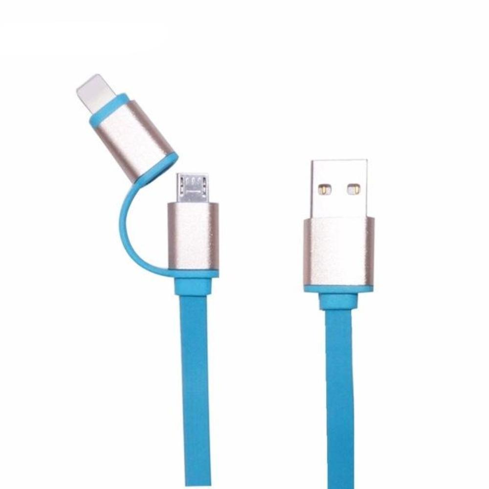 2 in 1 Micro USB Cable - Easy To Carry And Use
