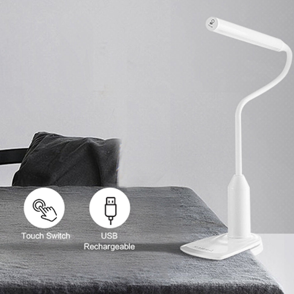Protection Table Lamp - Flexible Desk Lamp Rechargeable Touch LED
