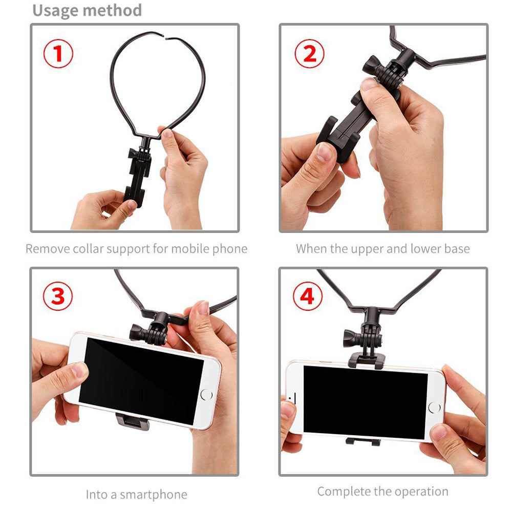 Neck Phone Holder - Get Capture Your Every Beautiful Moment
