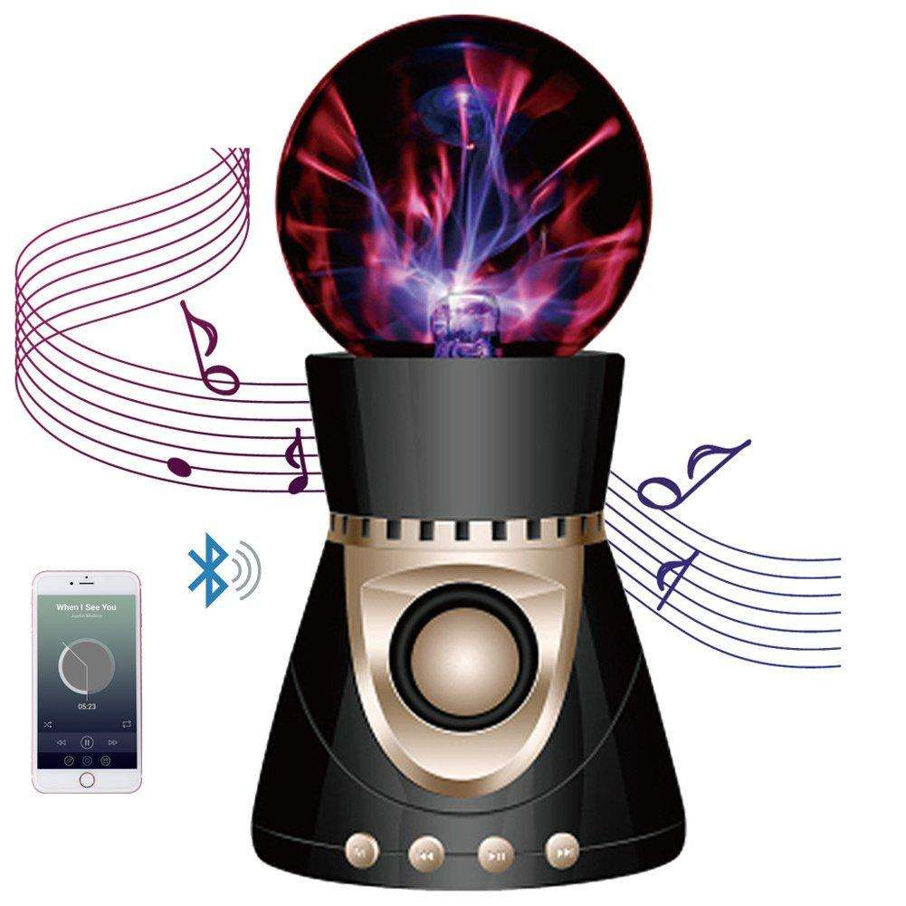 Speaker Plasma Ball - Speaker And Light Show Timed To Your Party