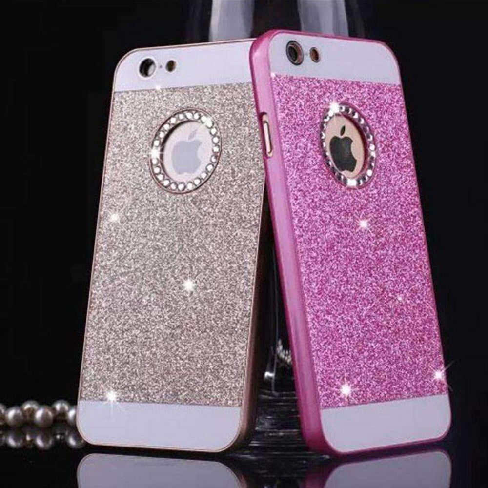 wonderful colors bling cover phone case for iphone 5 5s 5e