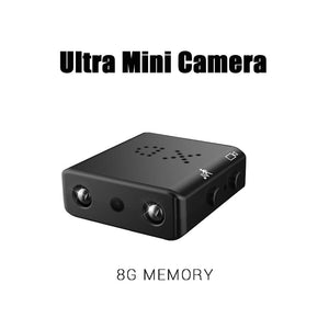 Ultra Mini Camera - Micro Infrared Night Vision cam Motion Detection!