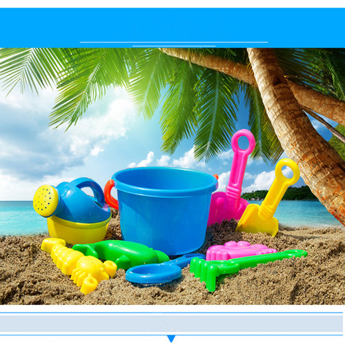 10Pcs Sandbeach Kids Beach Toys Castle