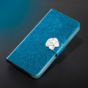Magnetic Auto Flip Wallet Stand Cell Phone Case