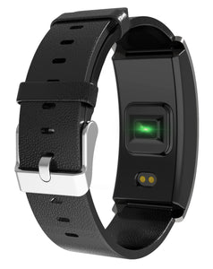 MEASURE BLOOD PRESSURE & HEART RATE! COLORFUL SCREEN SMART BRACELET