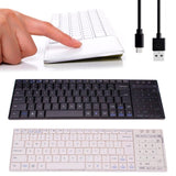 Mini Wireless Bluetooth Touch Keyboard with Touchpad