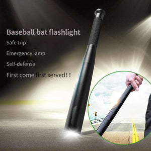 Baseball Bat Flashlight - You Will be Ready for Anything Comes in Your Way!