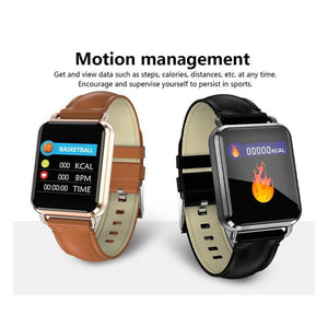 The Prestige Two Tone Leather Smartwatch