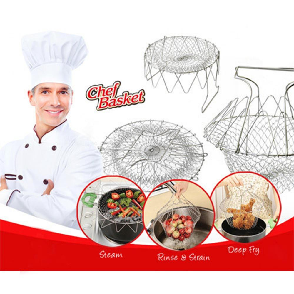 Chef Basket - Get The Convenience Of Cooking!