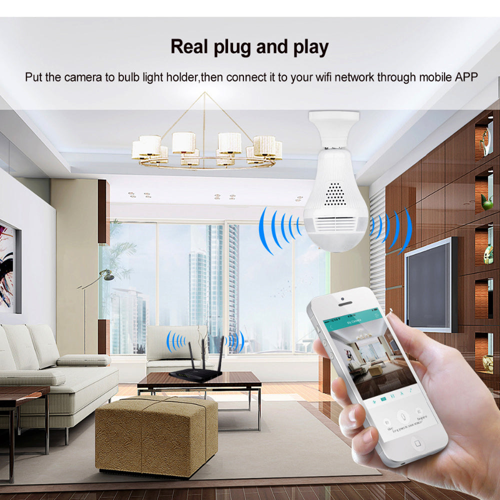 Security Cameras 360 Degree Wireless IP Camera