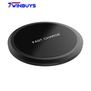 X8 10W QI Wireless Fast Charger for iPhone 8/X/8Plus Samsung S8/S8+/S7 Edge Nexus4/5/6 Lumia 830/920/930 USB Charge Pad