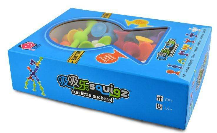 Action & Toy Figures - Mini Size Squigz Starter (FREE SHIPPING)
