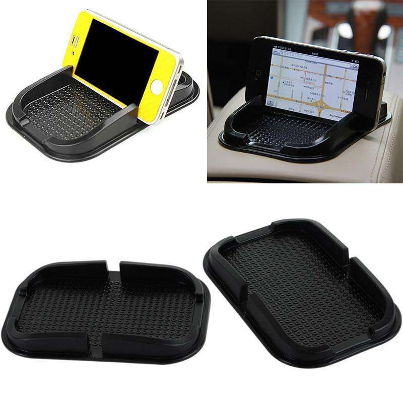 Anti-Slip Mat - Black Car Dashboard Sticky Pad Mat - Anti Non Slip Car Dashboard Holder For Gadget Mobile Phone GPS Stand