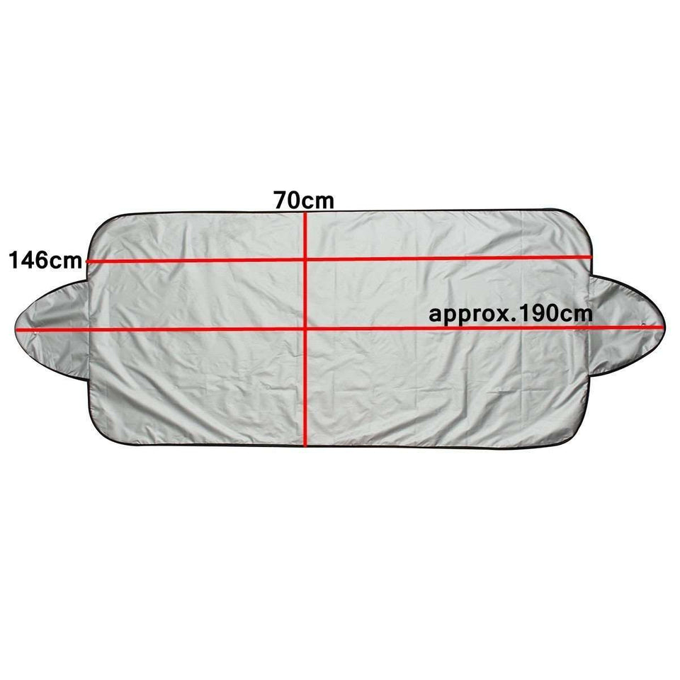 Car Covers - Smart Windscreen Cover- Dust, Snow And Extreme Sunlight Protection