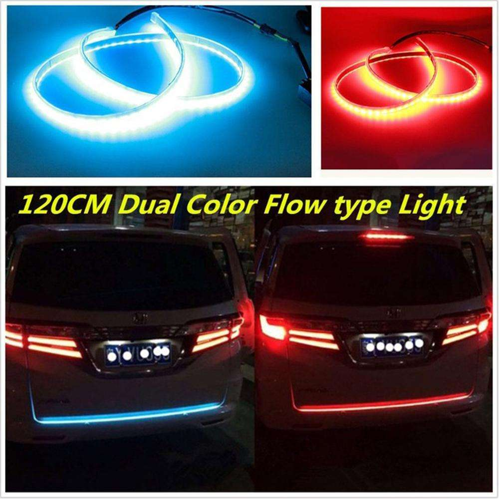 Flow led strip trunk light make your car look more cool car light assembly flow led strip trunk light make your car look more cool aloadofball Image collections