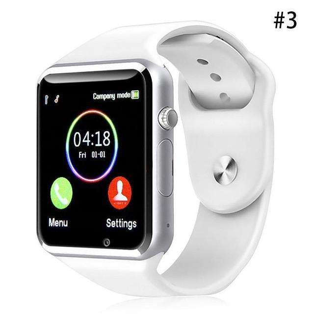 Dual Display Watches - A1 Smart Watch For Children - Students Adults General Use Phone Call Watch For Location With Touch Screen Intelligent