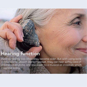 Earphones & Headphones - Smart Bone Conduction Bluetooth Headset - Provide A Better Experience For Listening!