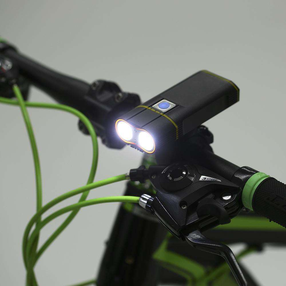 Flashlights - Rechargeable Bike Light 800LM - Flashlight Bicycle Front Safety Lights + Mount Holder Cycle Accessories Bicycle