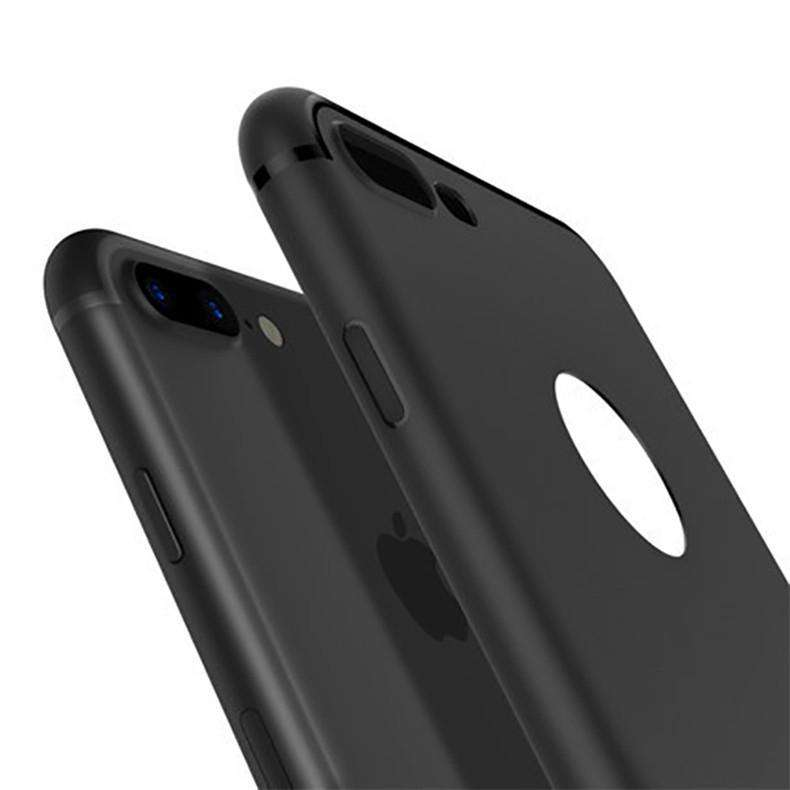 IPhone Case - Luxury Back Matte Soft Silicon Case - For IPhone 5/5S/SE, IPhone 6/6S/6Plus/6SPlus, IPhone 7/7Plus