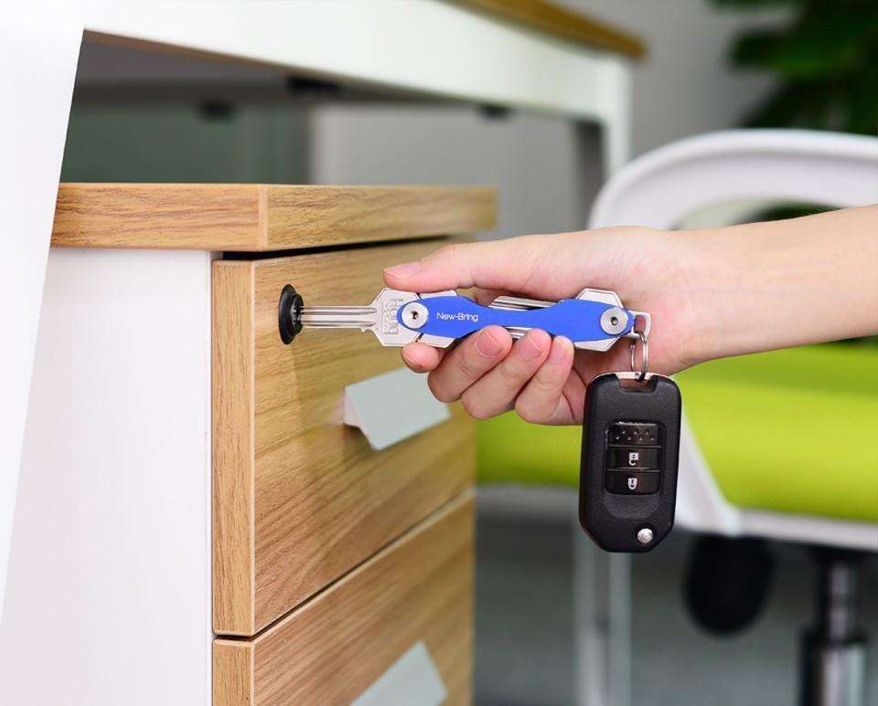 Key Organiser - Smart Key Ring Wallets - THE COMPACT SOLUTION TO YOUR BULKY KEY RING