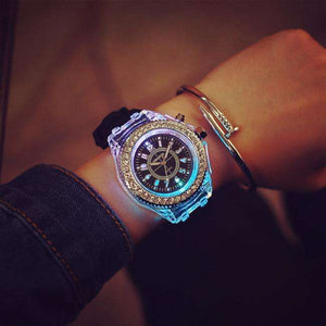 Lover's Watches - Luminous LED Fluorescent Creative Personality Fashion Unisex Watch (FREE SHIPPING)