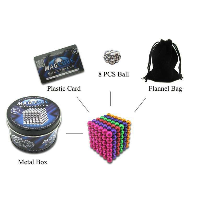 Magic Cubes - Magic Magnetic Ball Puzzle (FREE SHIPPING)
