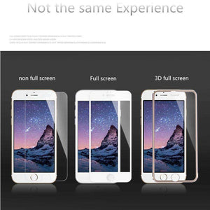 Mobile Phone Accessories - 3D Aluminum Tempered Glass - Best Choice For Protection From All Knock