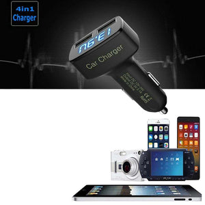 Mobile Phone Chargers - Smart Car Charger With Over Charging Protection