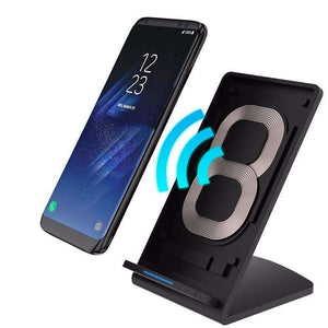 Mobile Phone Chargers - Vertical Wireless Fast Charging For Samsung Galaxy S8 | S7 | S6 | Edge | Note 5 | 7 - Enjoy Fast Charge Wireless Experience!