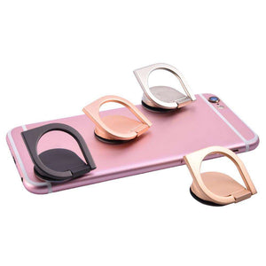 Mobile Phone Holders & Stands - 360 Degree Rotation Ring Stand Phone Holder -  Spinner And Adjustable Phone Stand
