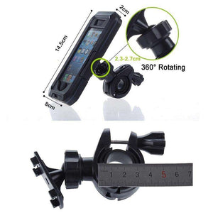 Mobile Phone Holders & Stands - Bike Waterproof Phone Case Holder For IPhone 5s | 6s | 6 Plus