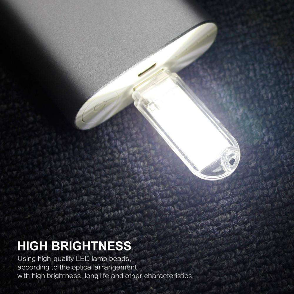 Night Lights - Mini USB LED Night Light - Cold White Lamp
