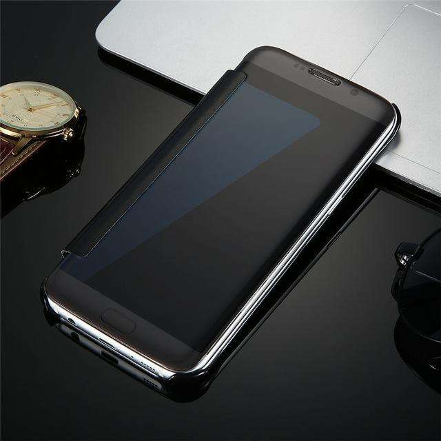 Phone Bags & Case - Flip Mirror Phone Case For Samsung - Protect And Beautify Your Mobile Phone With It!