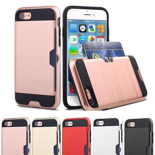 Phone Bags & Cases - Card Slot Case Wallet Cover Forcases For Iphone 6 6s | For Iphone 6 6s Plus | For Iphone 7 | For Iphone 7 Plus
