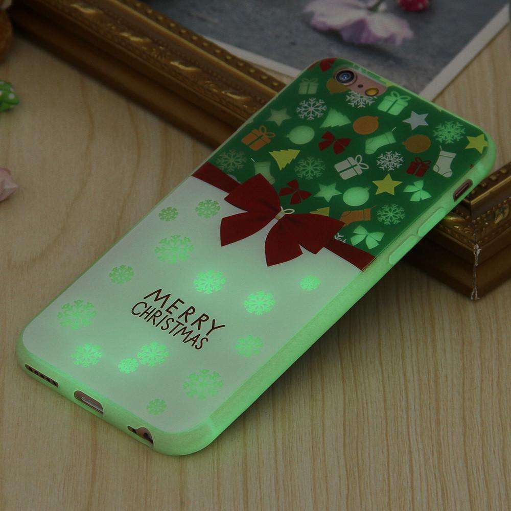 christmas luminous case cute christmas phone case for family and friends icoolgadgetscom