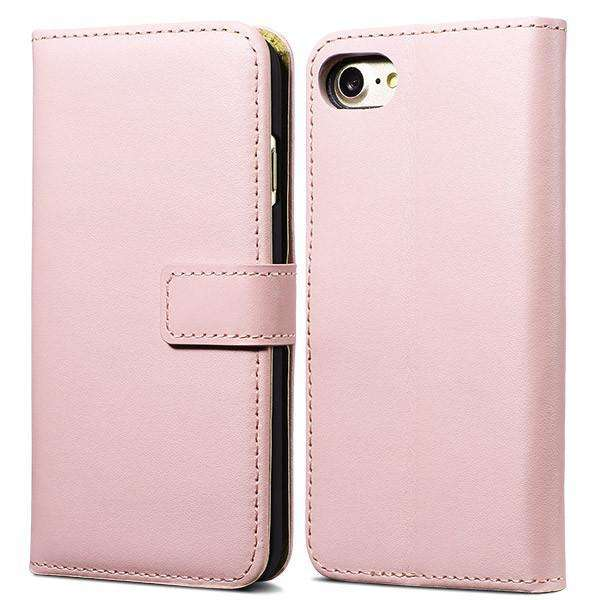Phone Bags & Cases - Leather Case For IPhone 7 / 7 Plus Wallet Flip Cover Phone Bag Stand With Card Holder