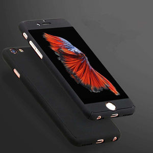 Phone Bags & Cases - Luxury 360 Degree Full Coverage Case For IPhone 5 5S SE | 6 6S | 6 6S Plus | 7 7 Plus (FREE SHIPPING)