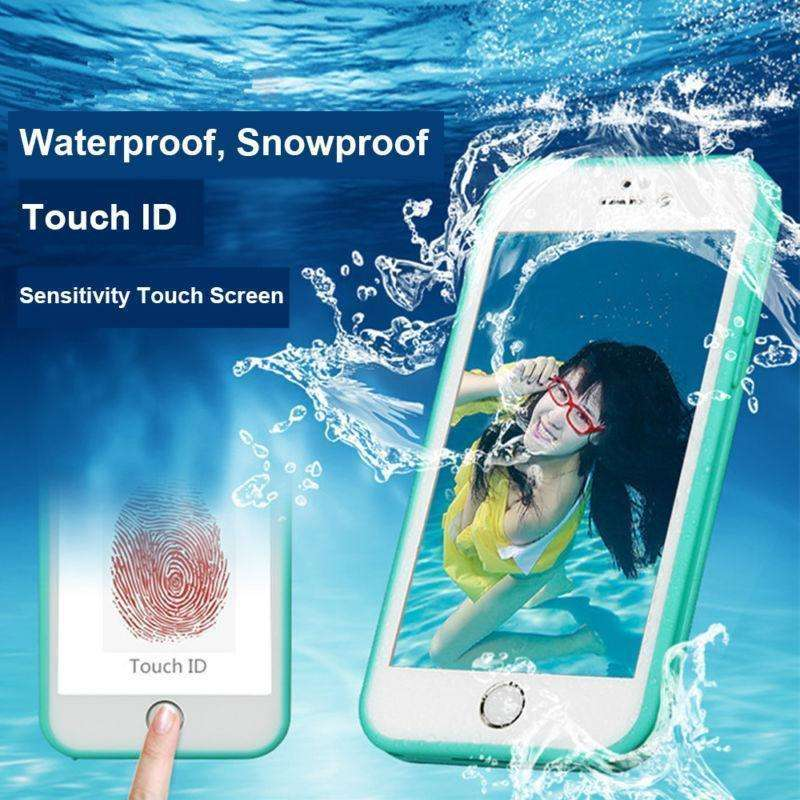 Phone Bags & Cases - Luxury Full Waterproof Shockproof Dirt Proof Silicone Case For IPhone 5s SE 6 6s Plus Protective Cell Phone Case For Iphone 6s