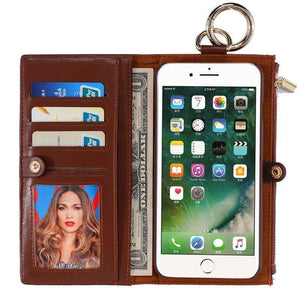 Phone Bags & Cases - Luxury Leather Case Wallet  For IPhone 7 | 7 Plus | IPhone 6s | 6s Plus | IPhone 6 | 6 Plus | IPhone 5 5s SE