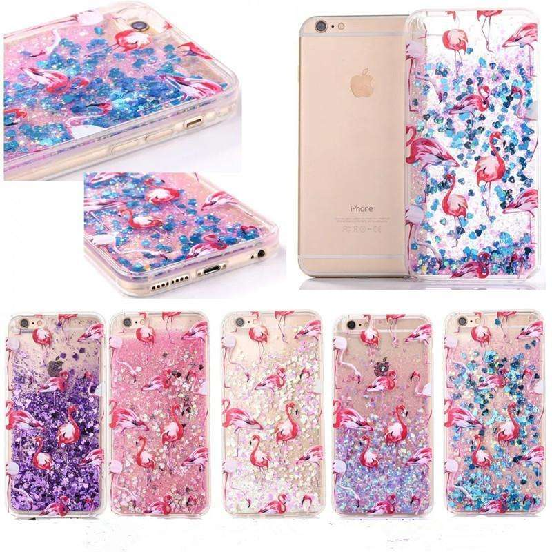 Phone Bags & Cases - New Fashion Liquid Glitter Meteor Sand Phone Cases For IPhone 4s/5 SE/6 6s/7Plus