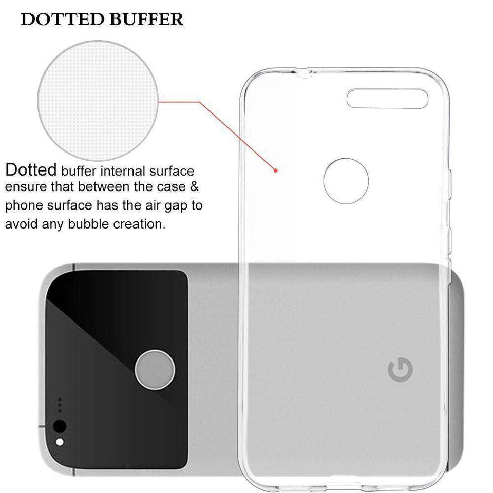 Phone Bags & Cases - Original Anti-konck Clear Flexible Soft For Google Pixel