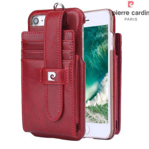Phone Bags & Cases - PIERRE CARDIN Multiple Card Slots Genuine For IPhone 7 4,7 Inch
