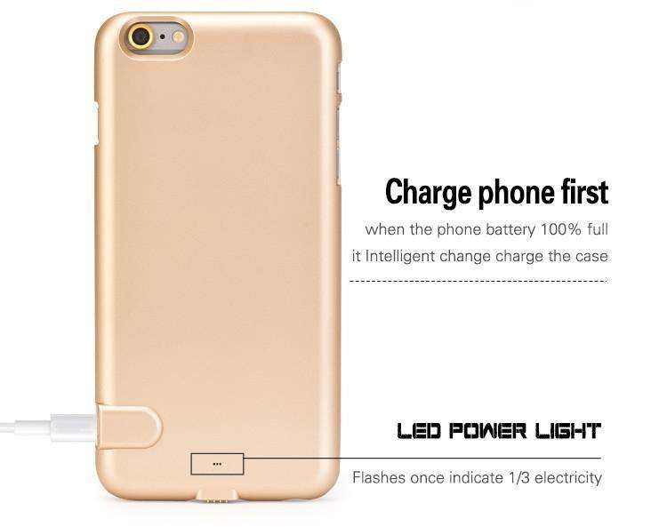 Phone Bags & Cases - Portable External Backup Battery Charger Power Bank Pack Case Cover For IPhone 7