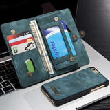 Phone Bags & Cases - Wallet Purse Case Plus Multi-Slot Leather For IPhone 7 | 7 Plus | Iphone 6 | 6S