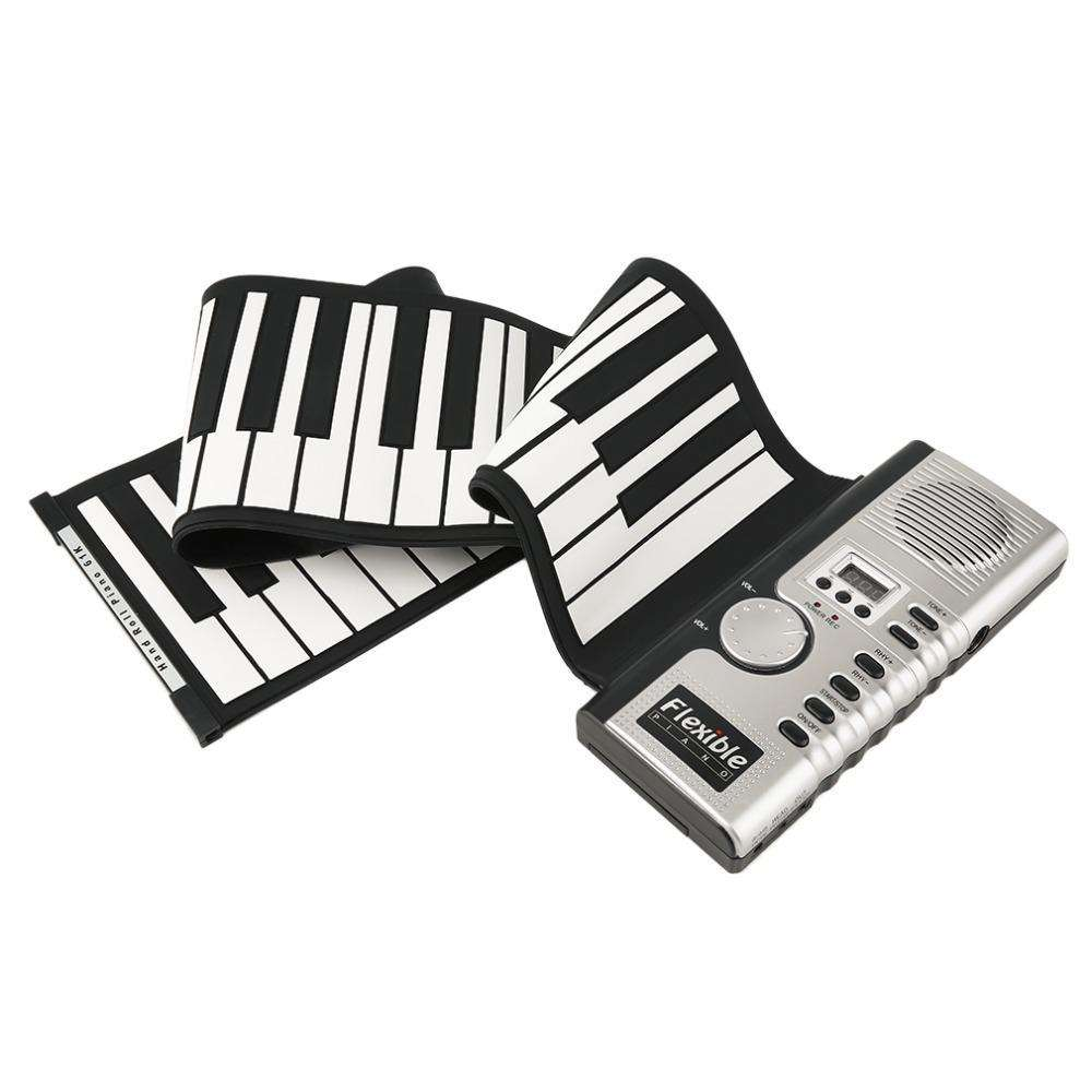 Piano - Portable Roll Up Piano - Create Brilliant Chapter Of Life!