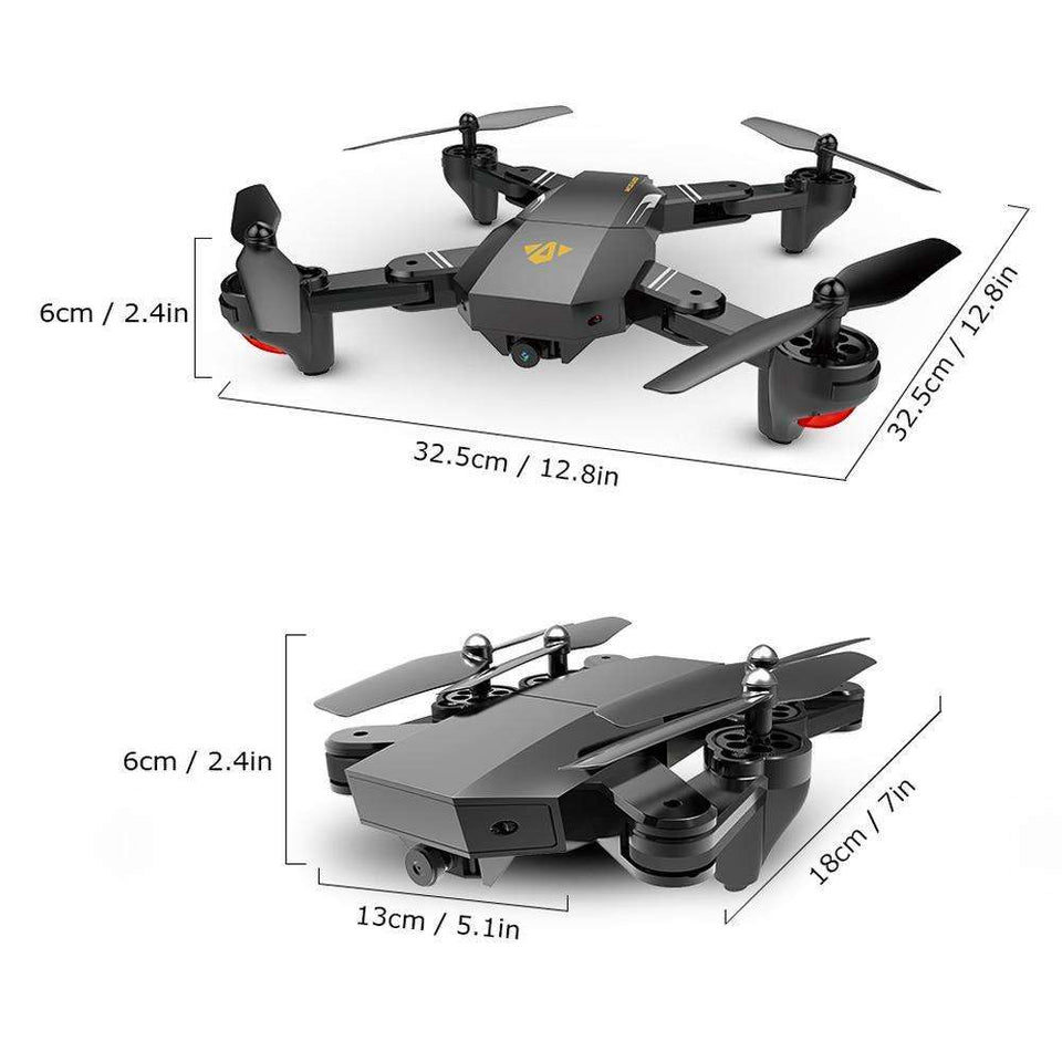 Remote Control Toys - Mini Foldable Selfie Drone - Great Choice For Drone Fans!