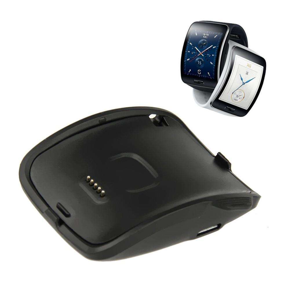 Smart Accessories - Portable Charging Cradle For Samsung Galaxy Gear S Smart Watch SM-R750