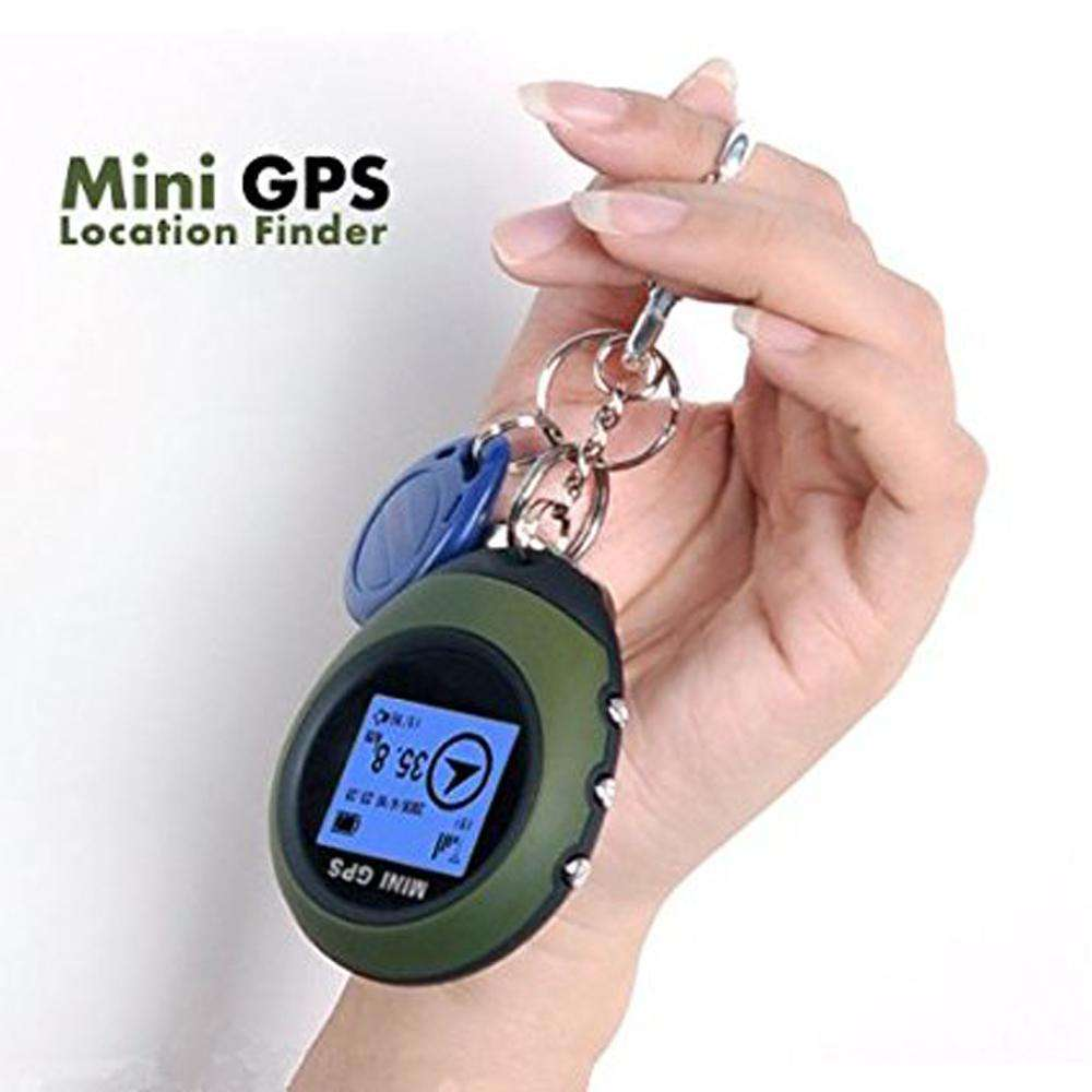 Smart Activity Trackers - Keychain GPS Navigation USB - Climbing Outdoor Travel Portable Keychain Hiking & Camping GPS